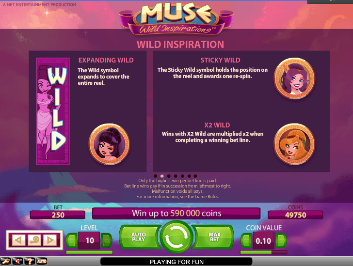 muse: wild inspirations