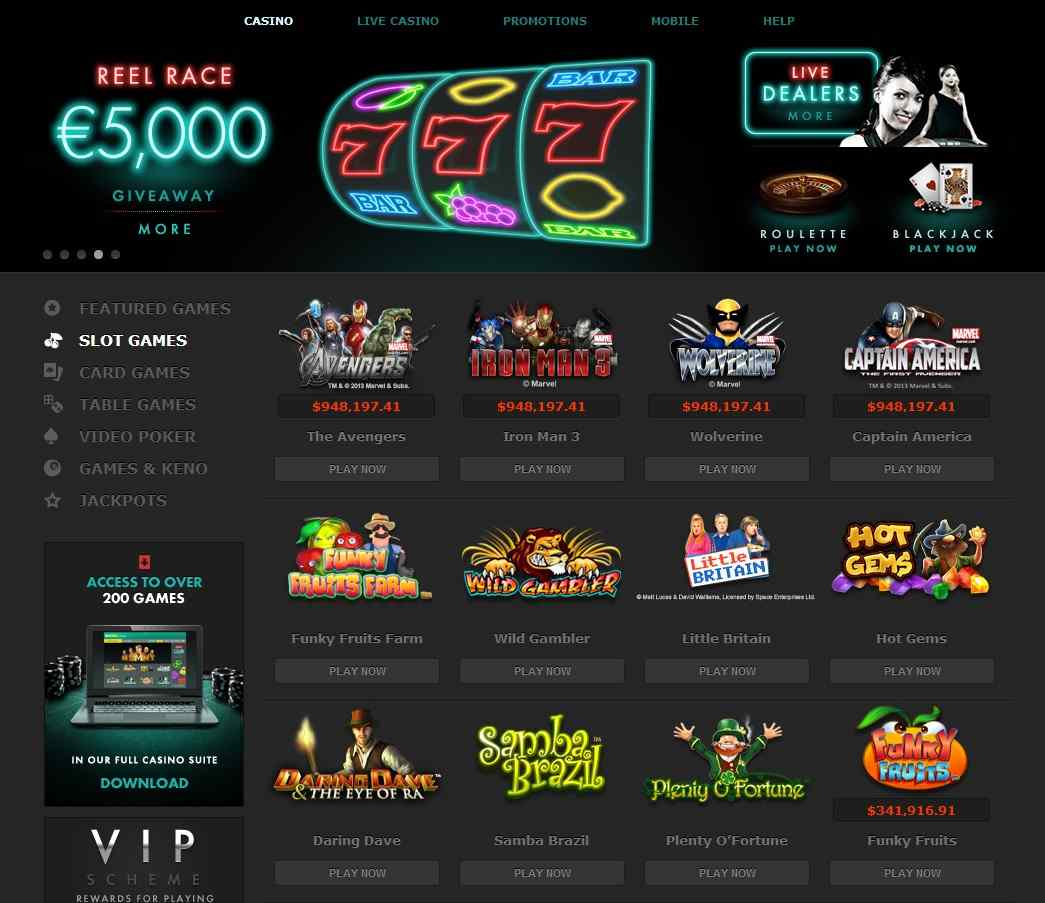 best casino game in bet365